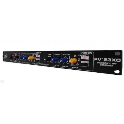 PEAVEY PV-23XO 2 Stereo / 3 Mono Electronic Crossover (PV23XO)