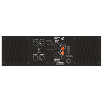 FAMOUSOUND MAX7800 Power Amplifier 1950W X 2 (MAX-7800)