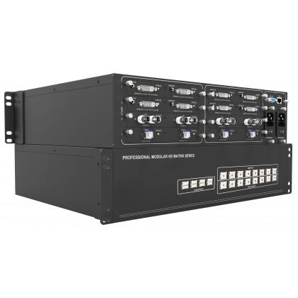 AVTEC MTX-88 Mudular Hybrid Matrix System (8 In x 8 Out) (MTX88)