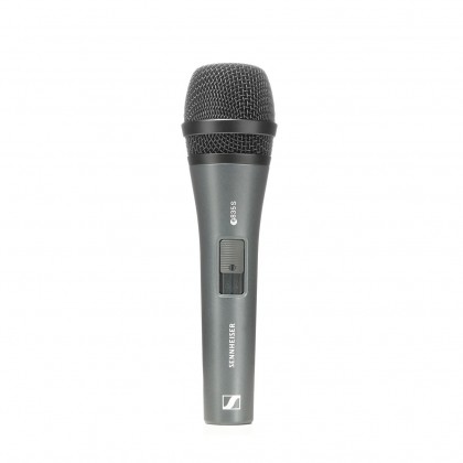 SENNHEISER E 835-S Cardioid Dynamic Handheld Microphone For Vocal With On/Off Switch (E835-S)