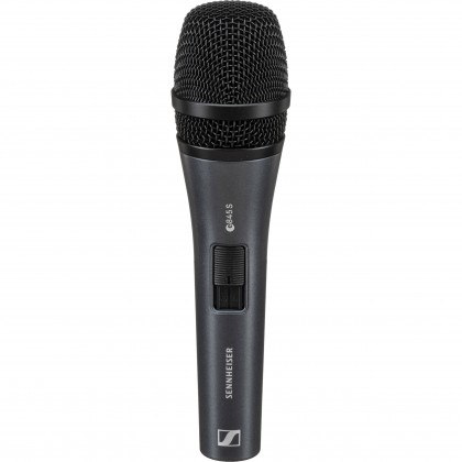 SENNHEISER E 845-S Supercardioid Dynamic Handheld Microphone For Vocal With On/Off Switch (E845-S)