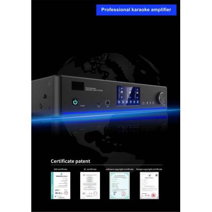 DYNAMAX DKS-12 12'' Karaoke Speaker + AVTEC DKA-800 Karaoke Amplifier with 2x Wireless Microphone (DKS12)