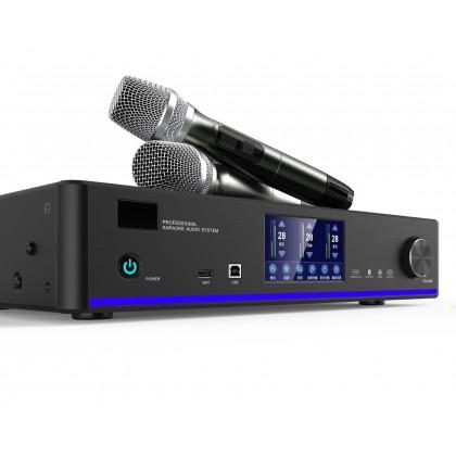 JBL MK10 10'' Karaoke Speaker + AVTEC DKA-800 Karaoke Amplifier with 2x Wireless Microphone (MK10)