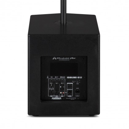 WHARFEDALE PRO ISOLINE-812 12'' Long Throw Subwoofer Powered Compact PA System with Bluetooth 800w (ISOLINE 812)