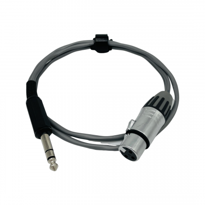 BELDEN 8761 3-Pin XLR Female to 6.35mm Stereo Jack Signal Cable 2 Meter