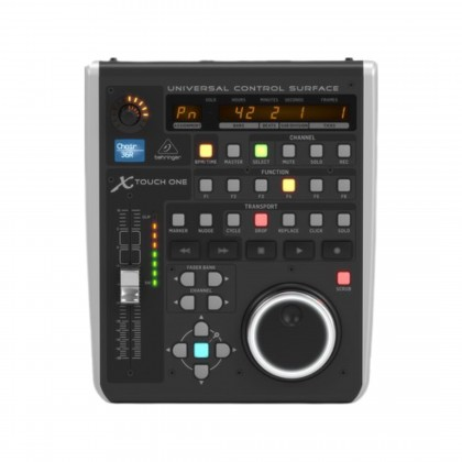 BEHRINGER X-TOUCH-ONE Universal Control Surface with Touch-Sensitive Motor Fader and LCD Scribble Strip (X TOUCH ONE)
