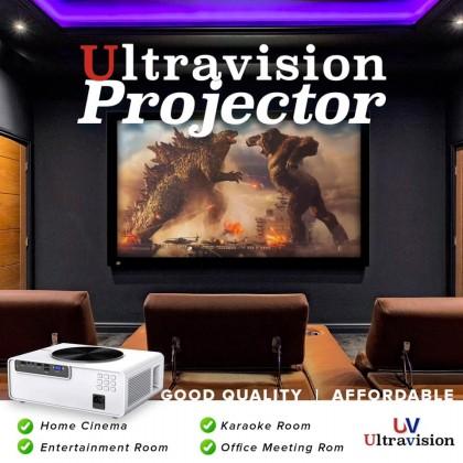 ULTRAVISION UV-70 LED Projector 7200 Ansi Lumens; 1920 x 1080 XGA (UV70)