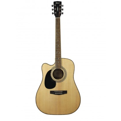 CORT AD-880CE-LH Left-Handed Acoustic Guitar with EQ & Bag (AD880CE-LH)