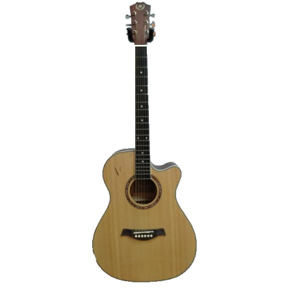 "A&K AK-220/230C 40"" Cutaway Acoustic Guitar (Natural) (AK220/230C)"