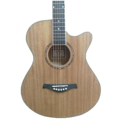 "A&K AK-220/230C 40"" Cutaway Acoustic Guitar (Mahogany) (AK220/230C)"