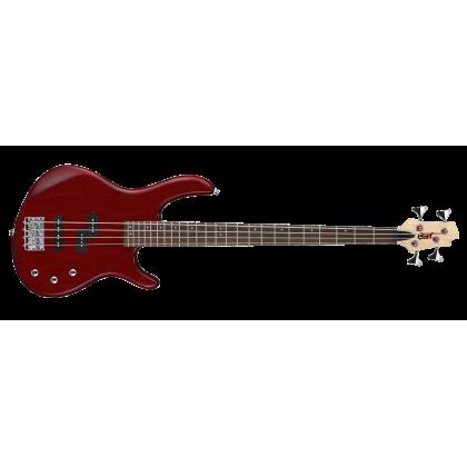 CORT ACTION-PJ Action Series Electric Bass Guitar (Open Pore Black Cherry) (ACTION PJ)