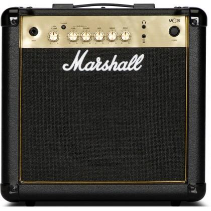 MARSHALL MG-15G Gold Series Guitar Combo Amplifier 15W (MG15G)