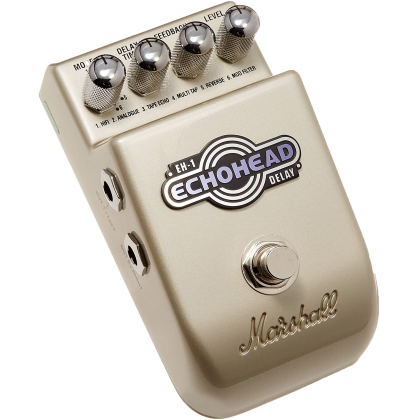 MARSHALL EH-1 The Echohead Guitar Effects Pedal (EH1)